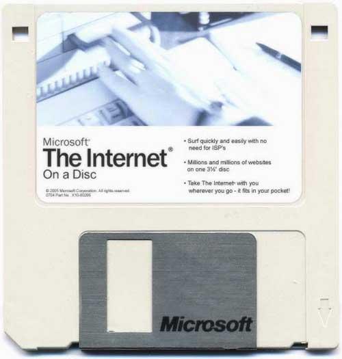 The Internet on a disk
