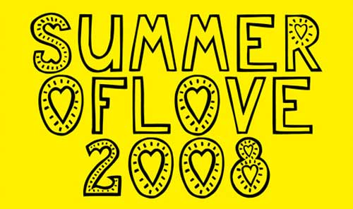 Cover Summer of Love 2008