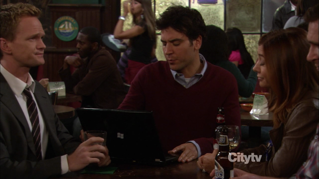 Windows Laptop bei How I Met Your Mother