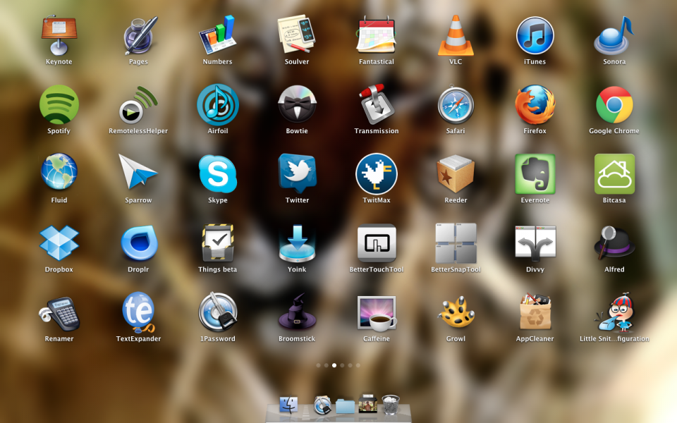 A List of Mac OS X Apps, Which I Currently Use